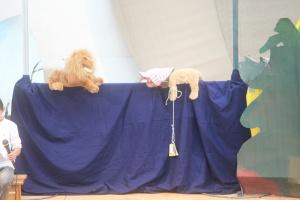 Puppentheater zur Einschulung