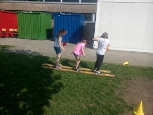 Schulfest 18 - Spielstation 1